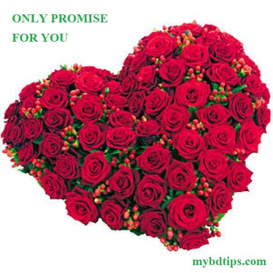 Happy promise day photo