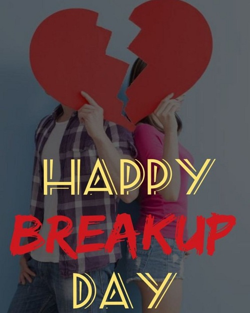 Happy Break Up Day Messages