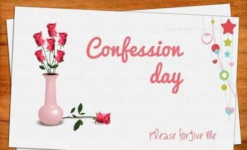 Happy Confession Day
