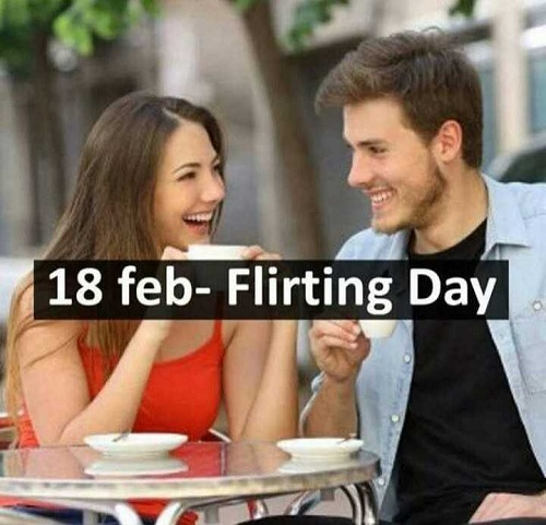 Happy Flirting Day Messages
