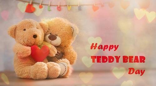 Happy Teddy Bear Day